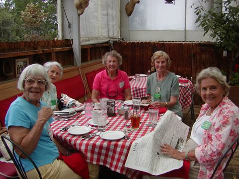 Pat, Liz, Virginia & hosts dayhosts
