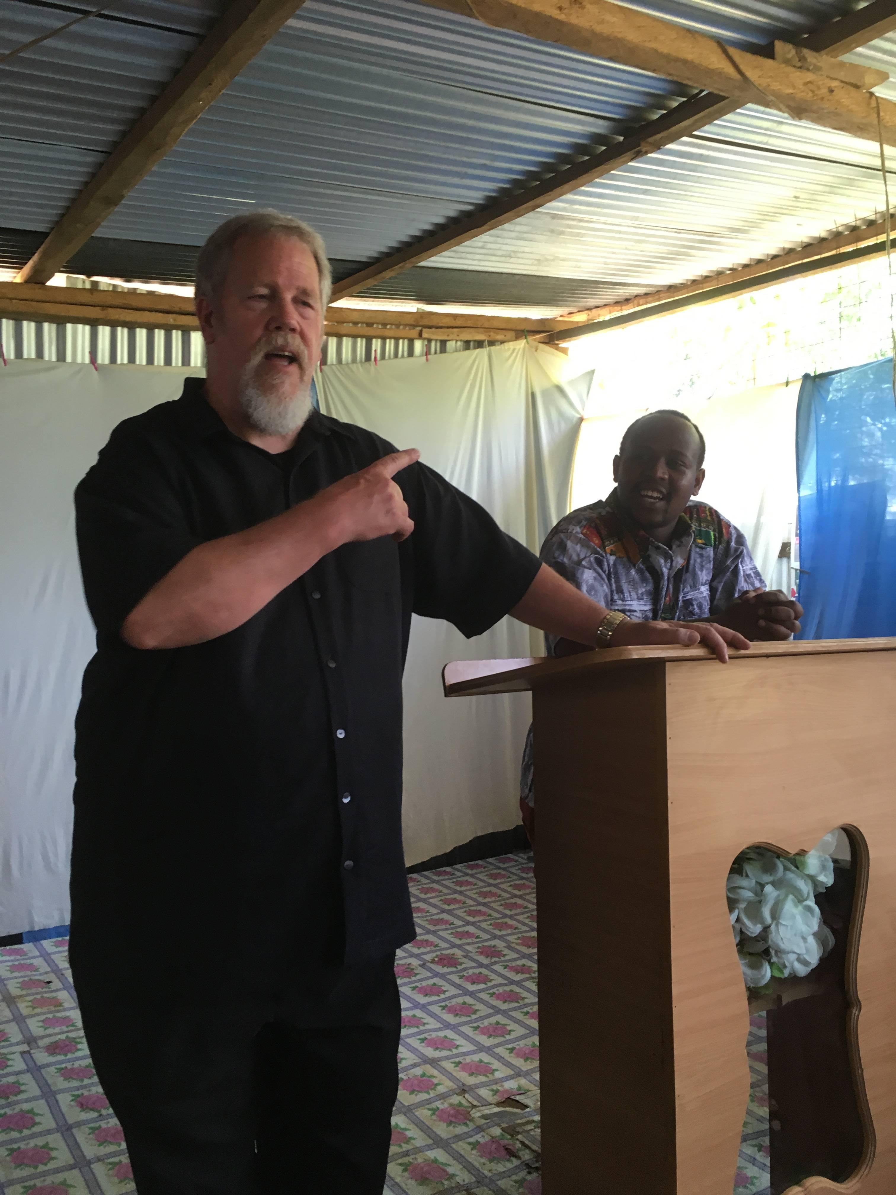 Mike Heiser, Founder & Director of Neema Bible Colleges in Kenya