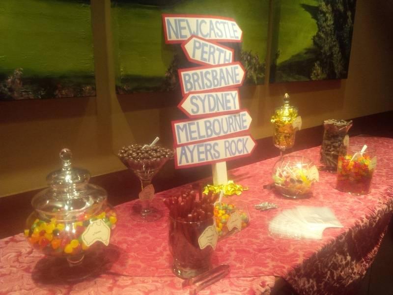 Australian Candy Buffet