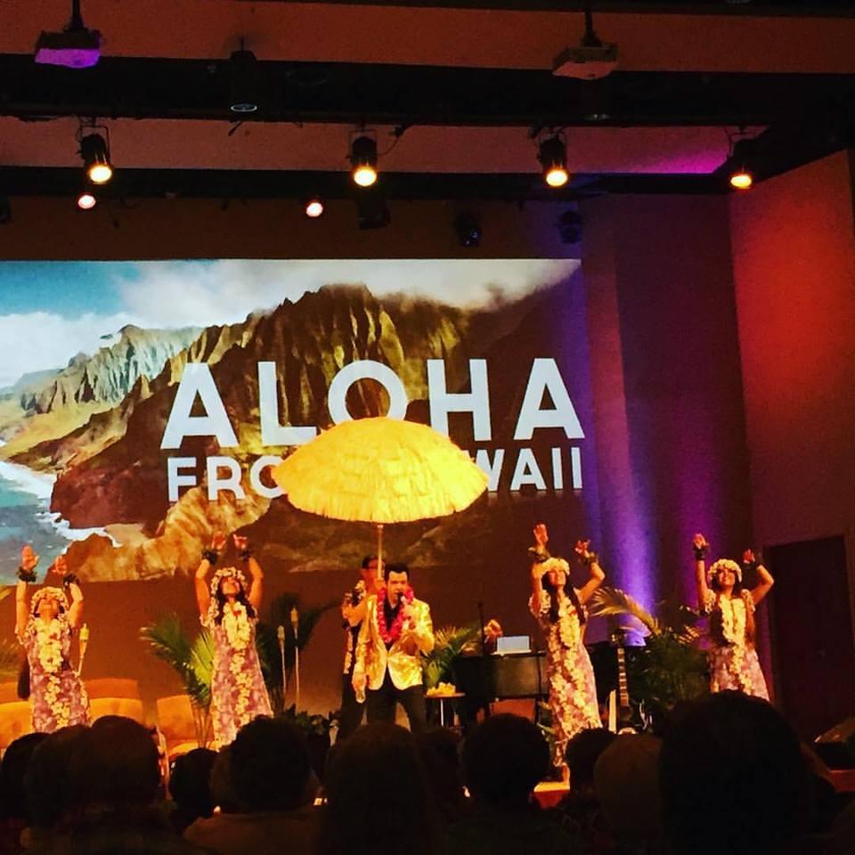 Aloha Elvis show