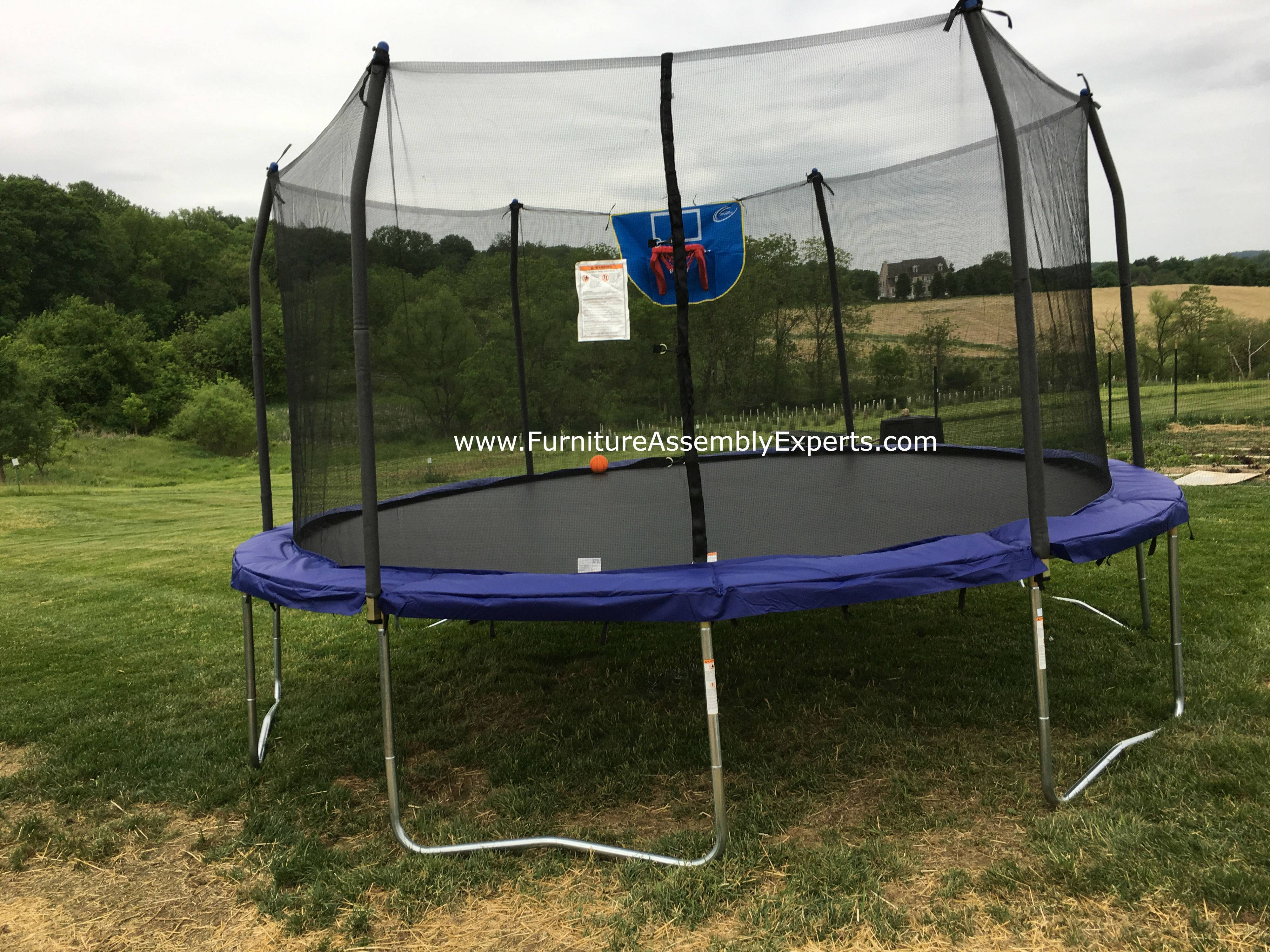 skywalker trampoline removal service in great falls Virginia