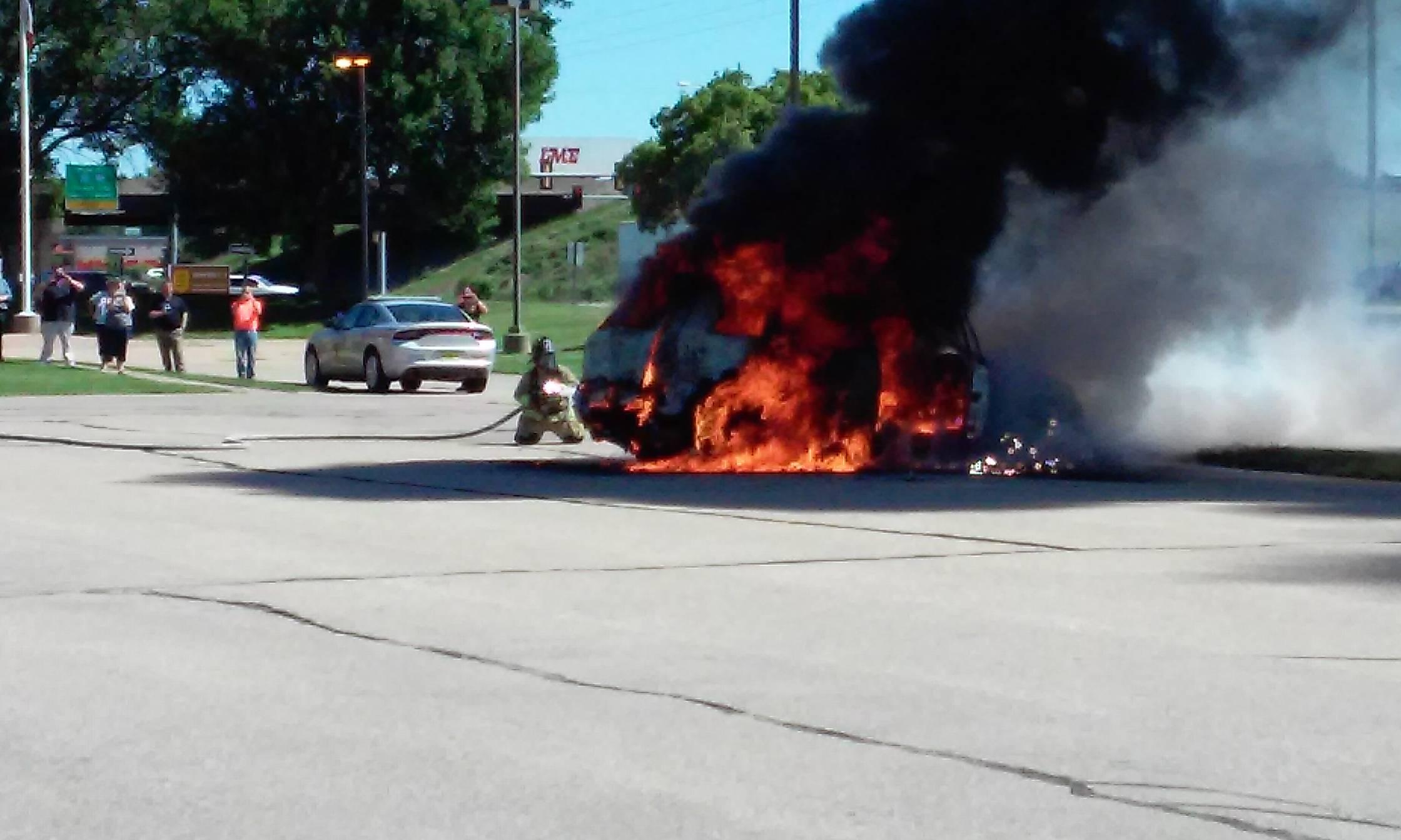 Car Fire, 6-1-16