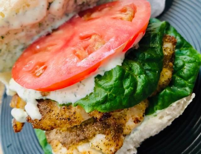 Crispy Cod Lunch Sandwich
