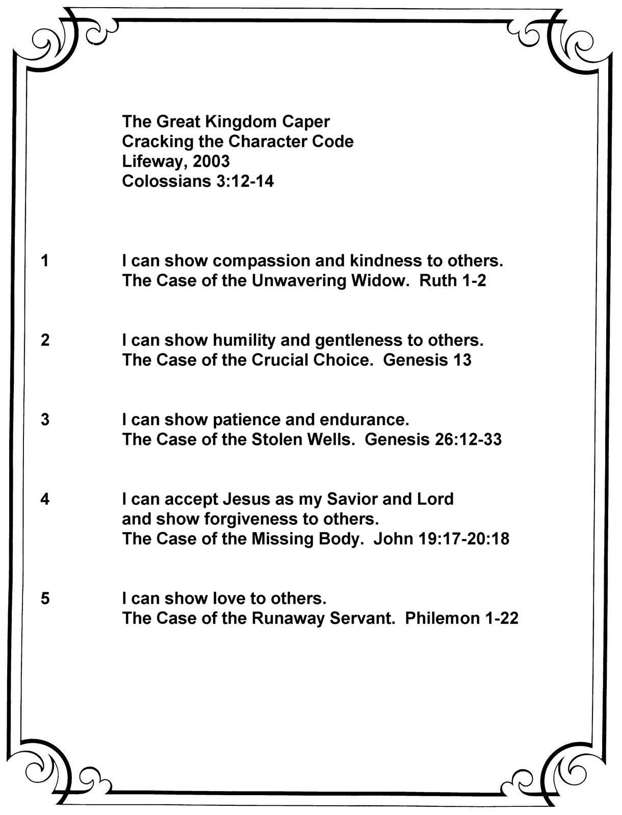 Great Kingdom Caper Summary
