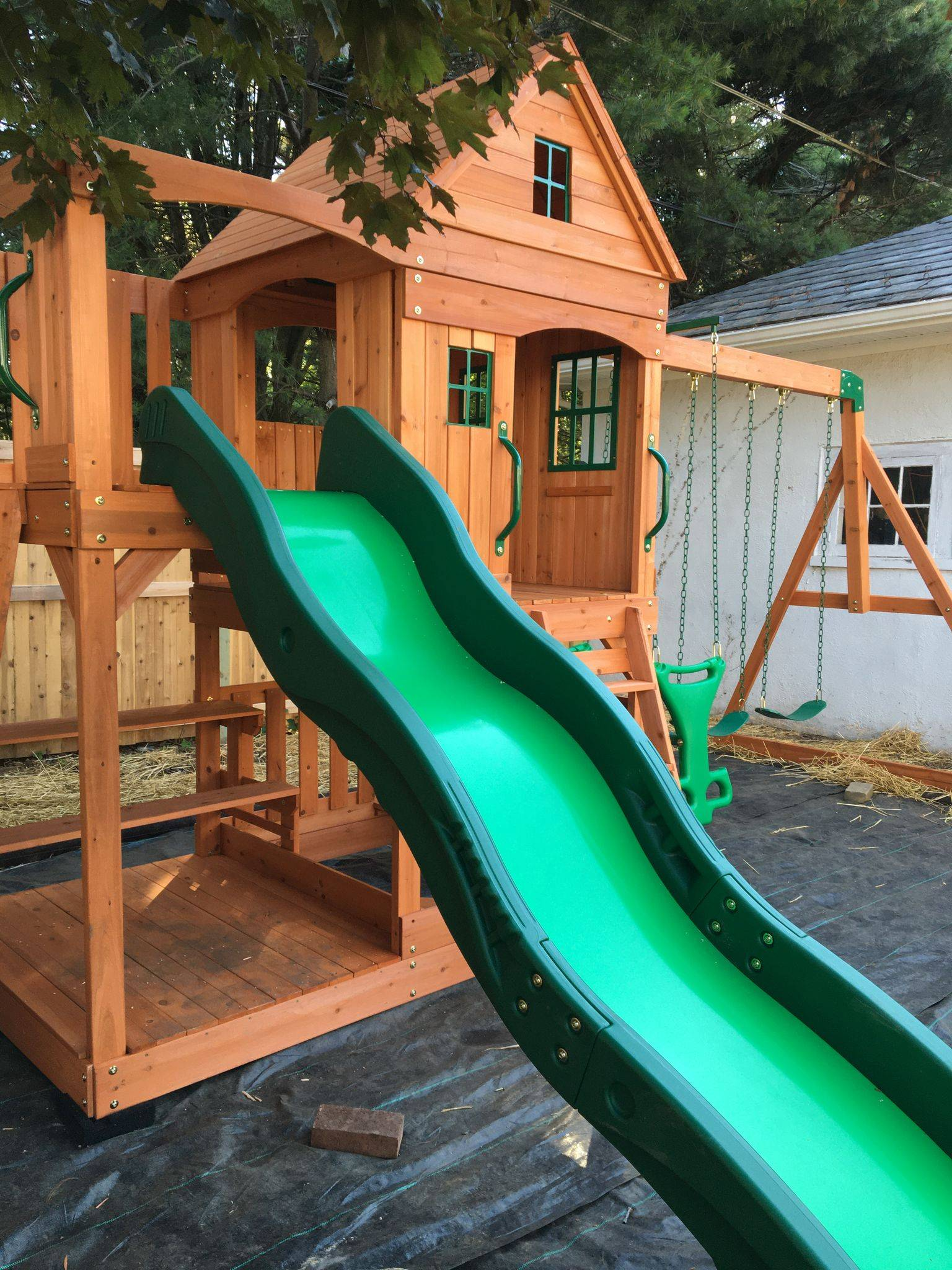 backyard discovery Pacific View swing set assembly in leesburg Virginia