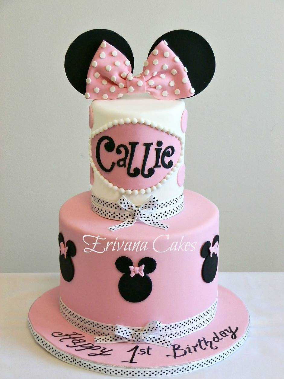 Minnie mouse Cake 6