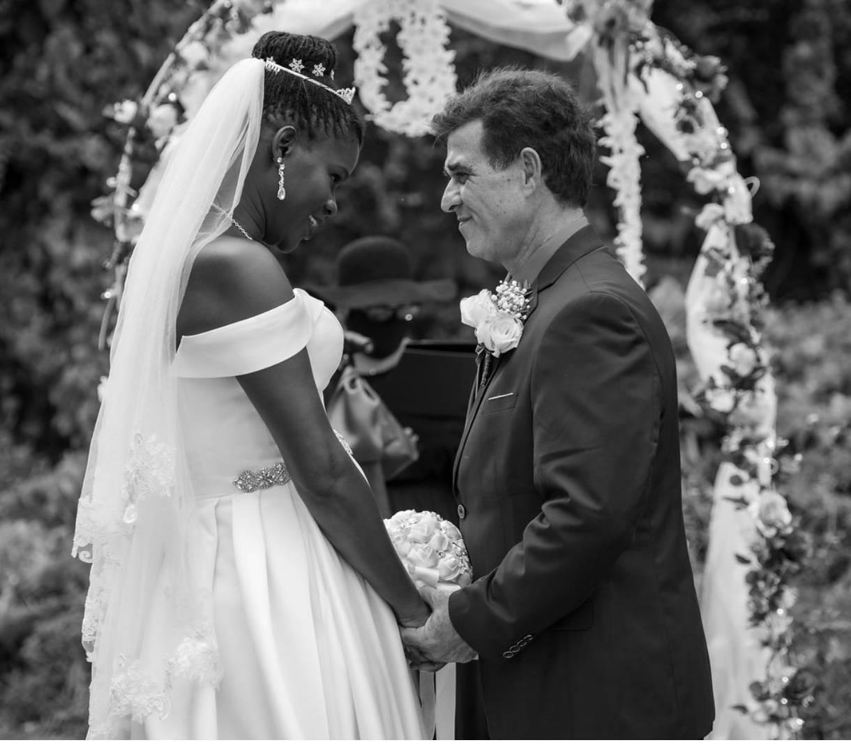 Mr. and Mrs. Philip Santo