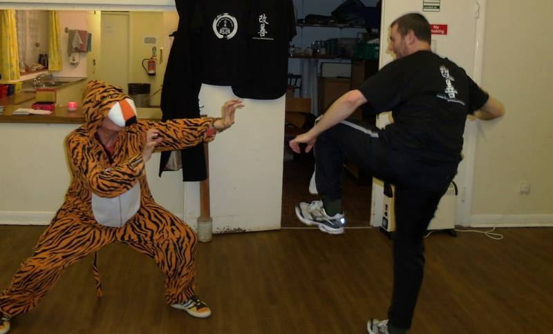 The legendary tiger onesie! haha!