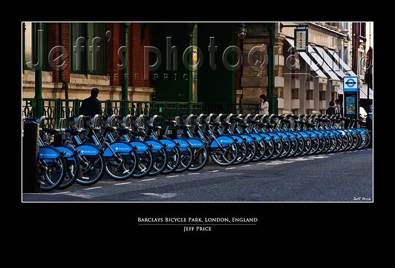 Barclays Bicycle Park, London, England