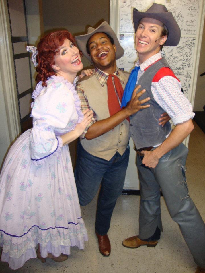 Gertie, Zeke, Will Parker