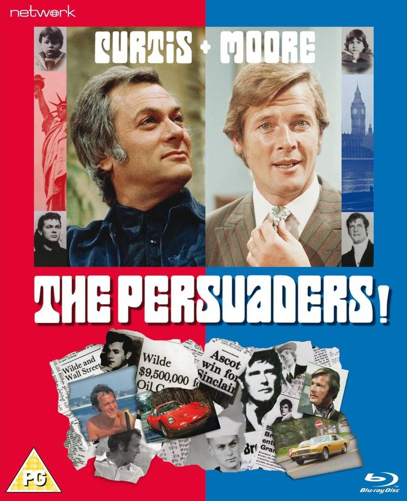 The Persuaders! - (Blu-Ray) 40th Anniversary Commemorative Set