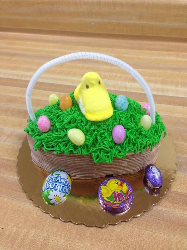 Easter Basket Cake