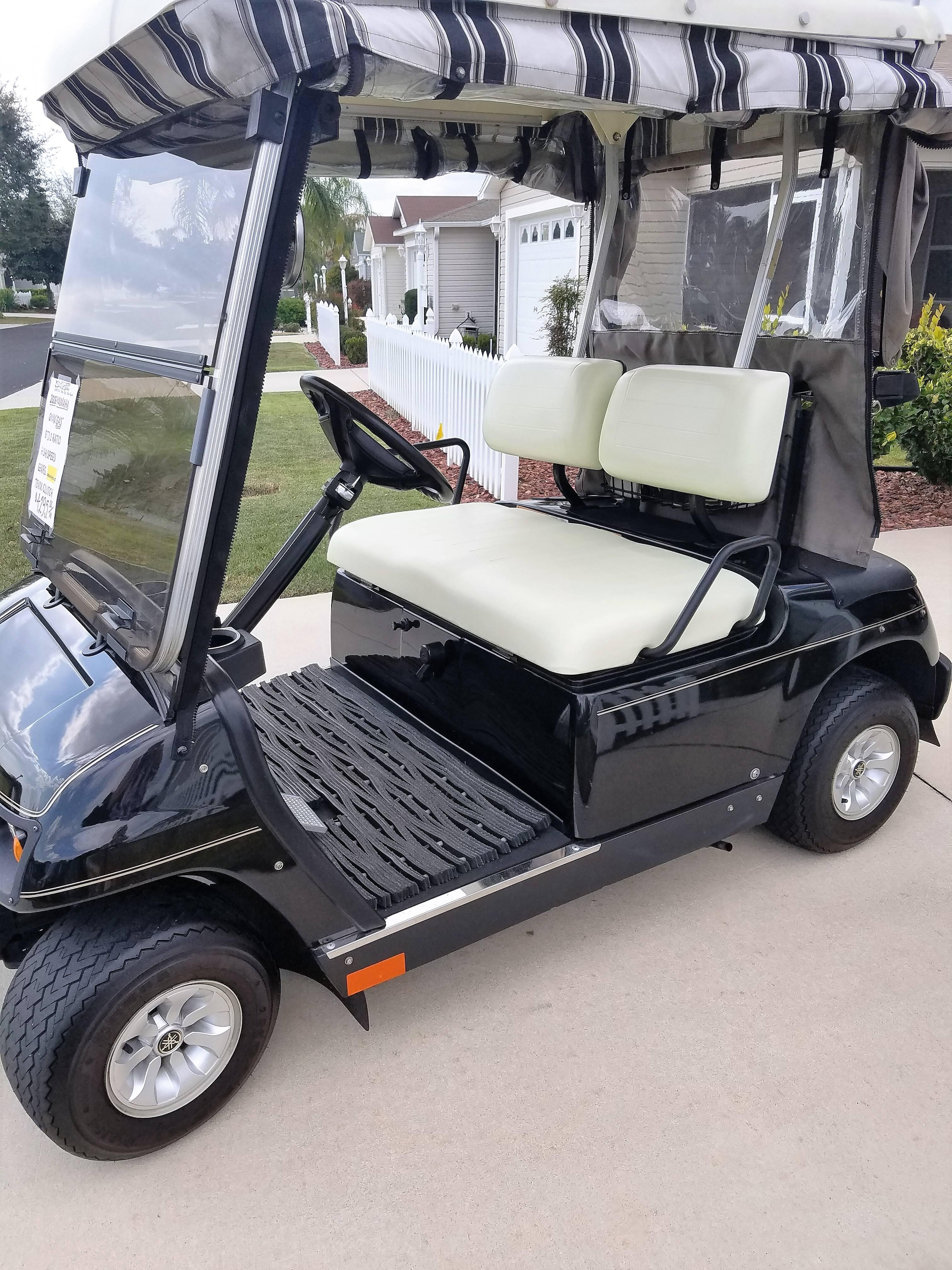 2006 Yamaha Gmax GAS golf cart