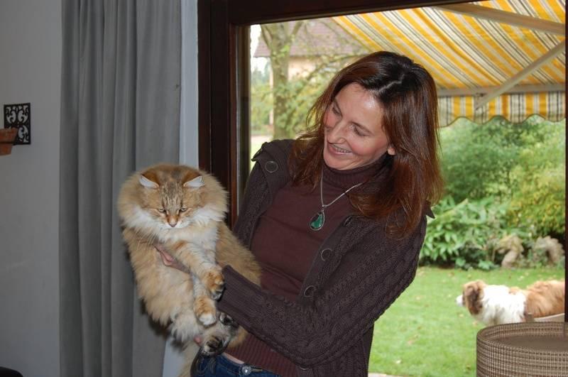 Passionata har ti katter og to hunder!