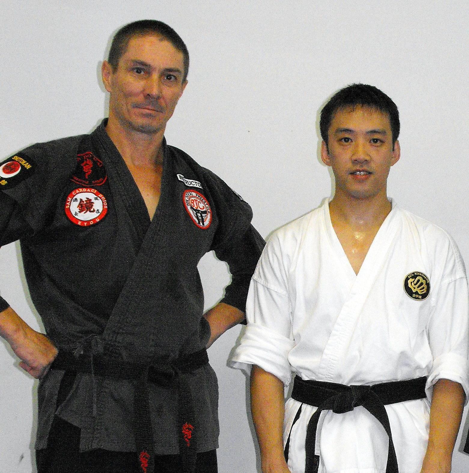 Sensei Peter & Shihan Alan Chan