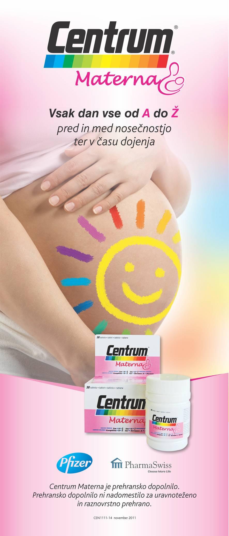 plakat: Centrum Materna