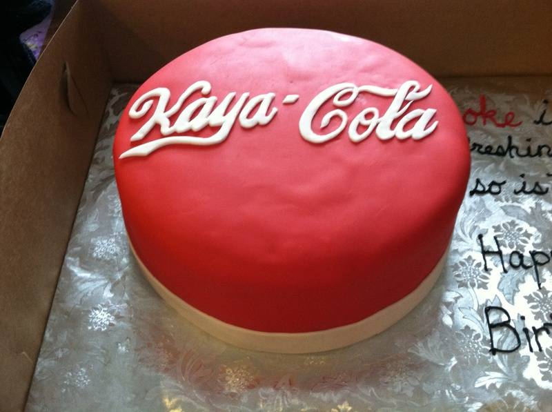 For a Coca-Cola collector named Kaya :)