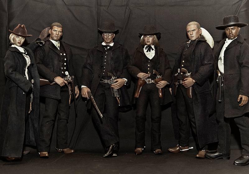 Gang in black by J.H.