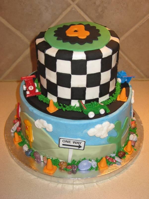 Raceway Cake