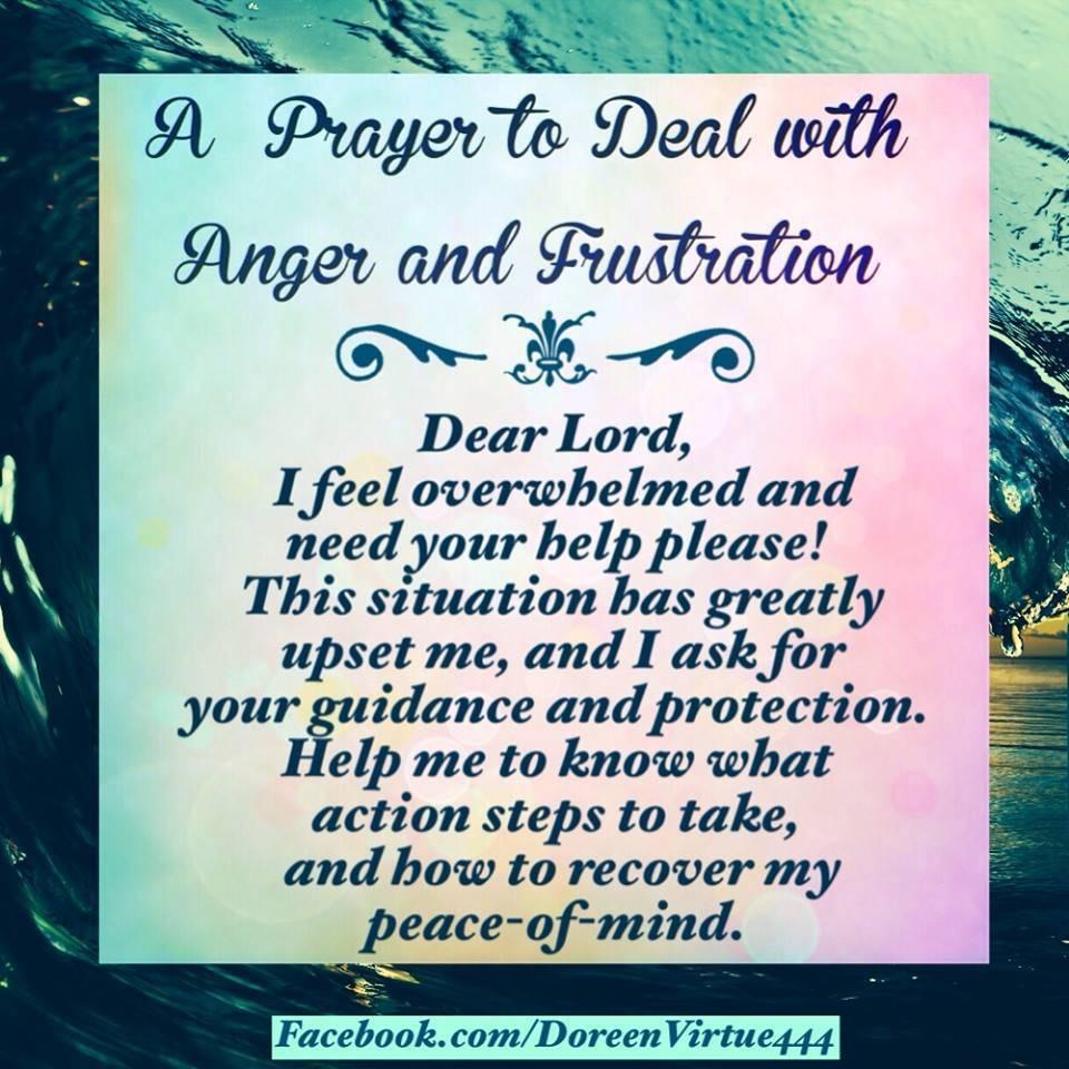 No more Anger