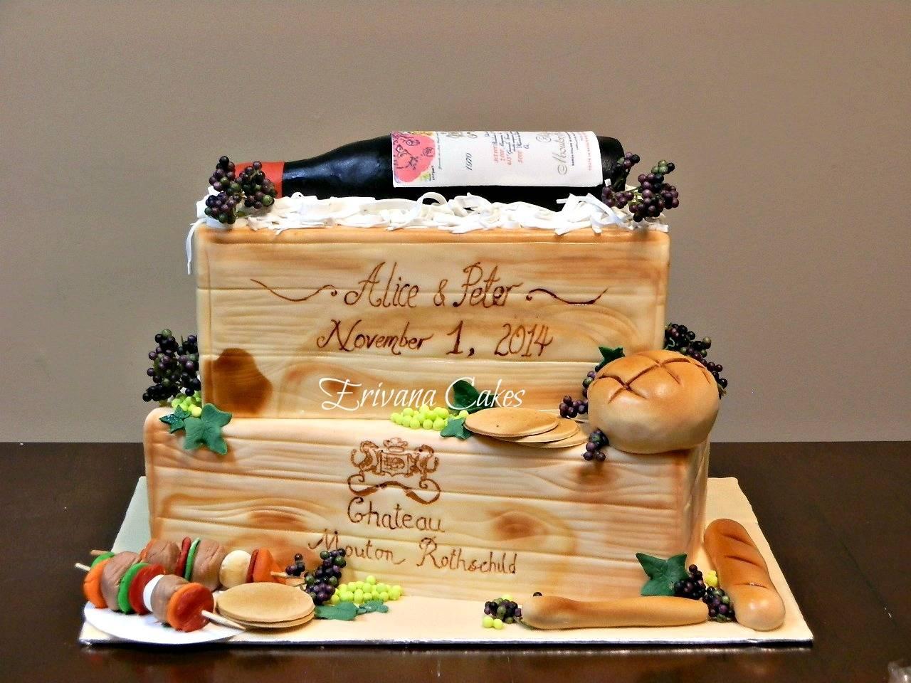 Traditional wedding cake 6
