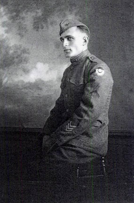 Sgt. Raymond W. Knott c. 1919