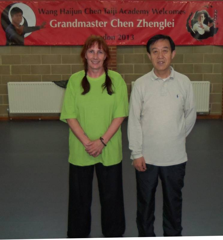 Chen Zheng Lei visits UK 2013