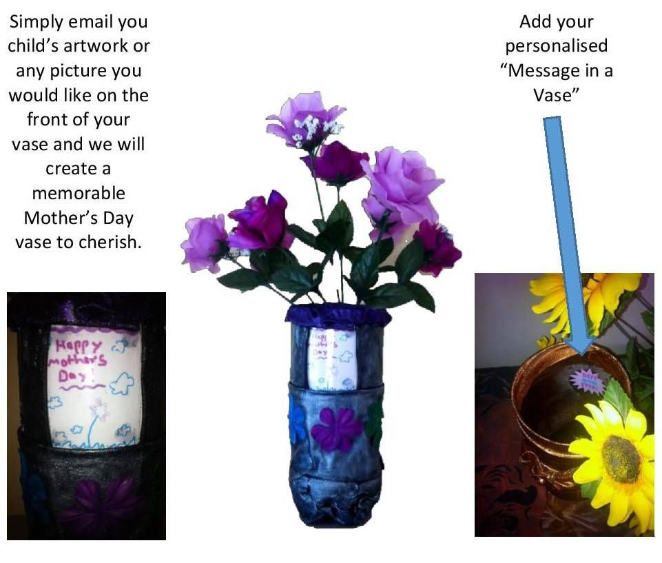 Personalised Mother's Day Vase