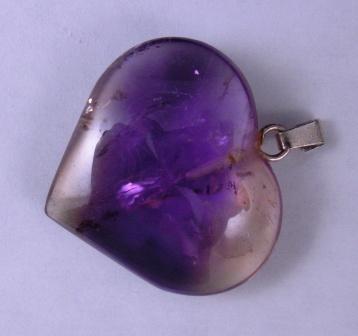 09-00342 Ametrine Heart Pendant