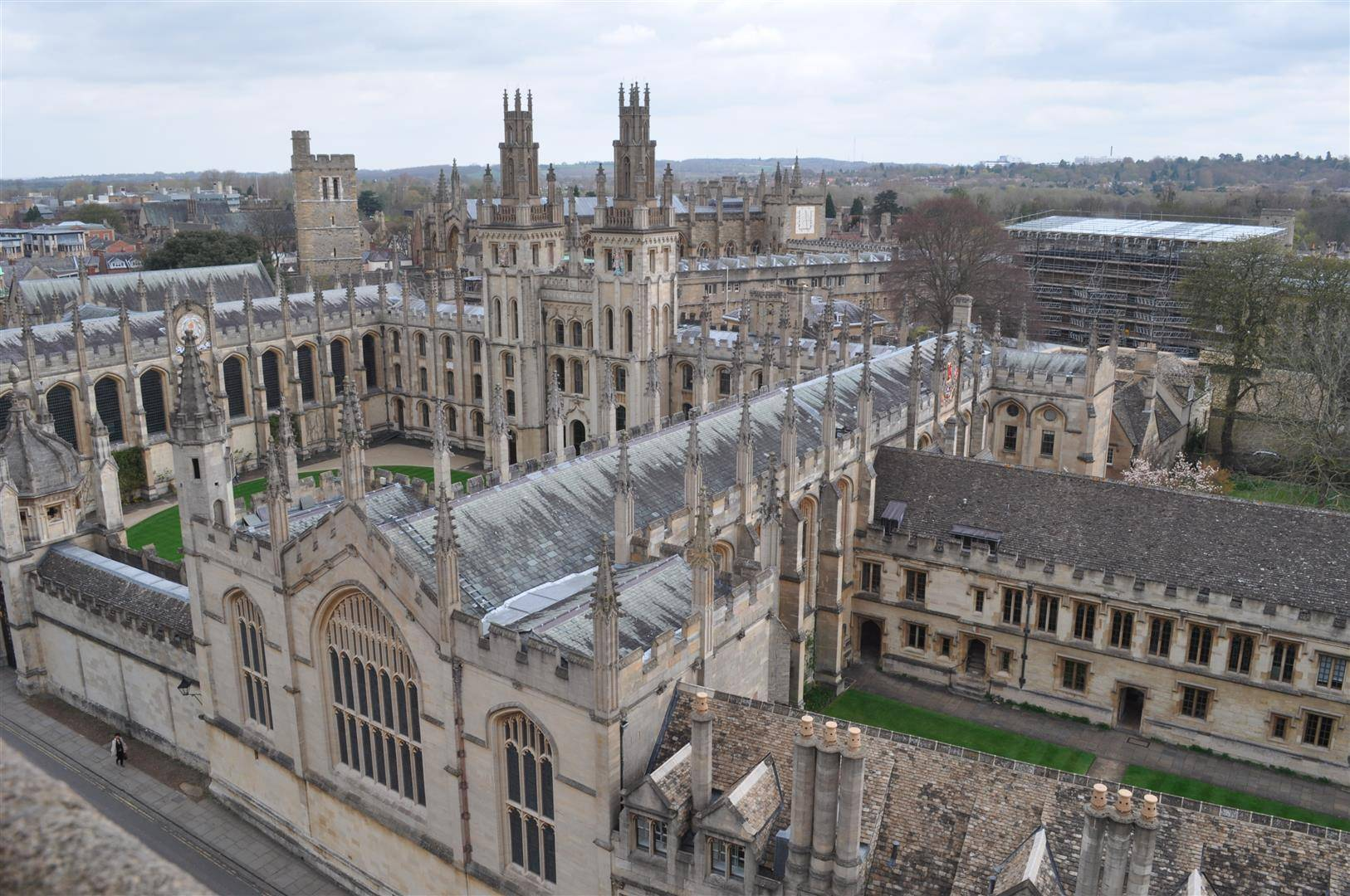 View from the Tower 2, University Church of St. Mary the Virgin, Oxford