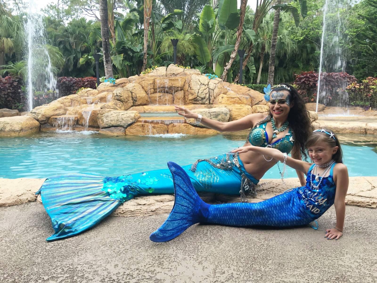 Mermaids for Kids parties