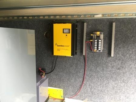 DC power center in progress