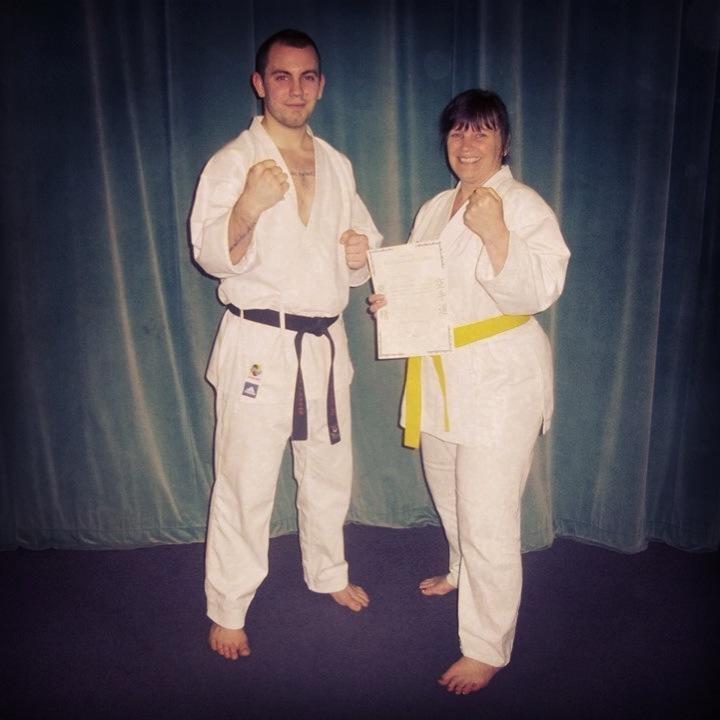 Janet to yellow belt 2013