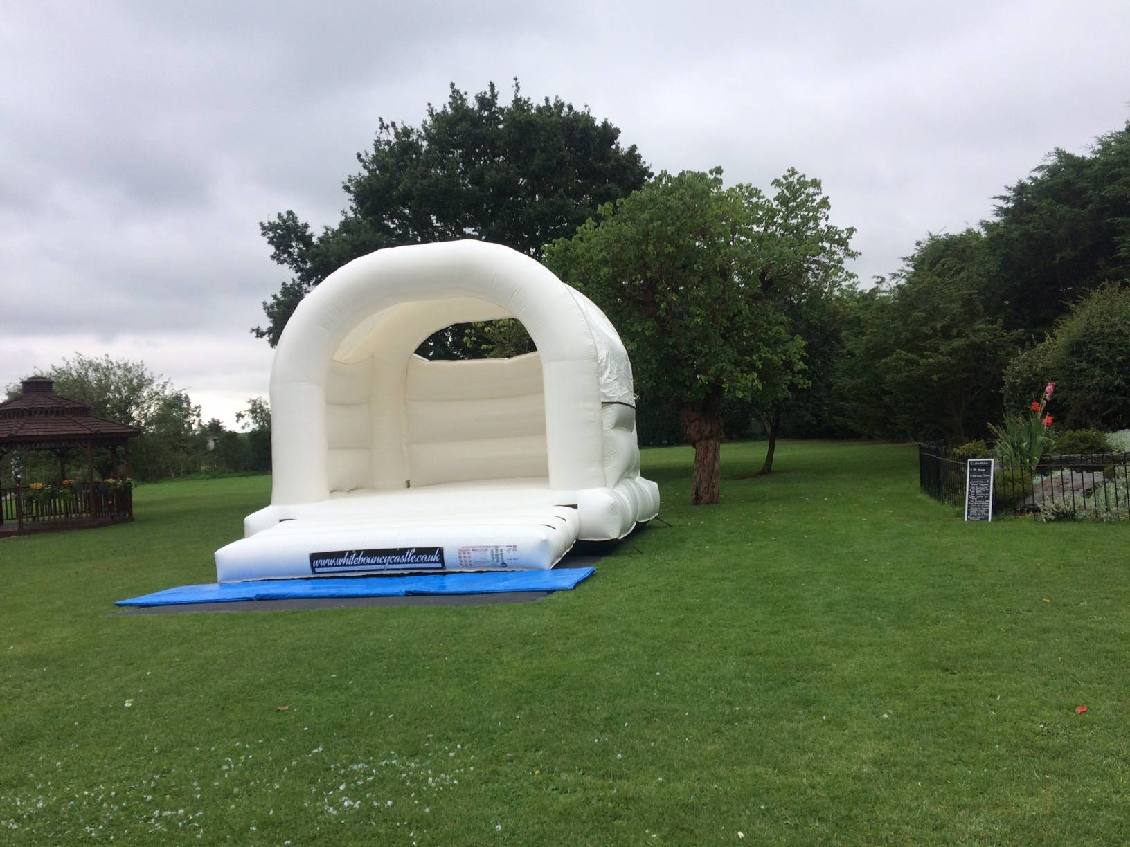 White castle at The Old Rectory Brentwood