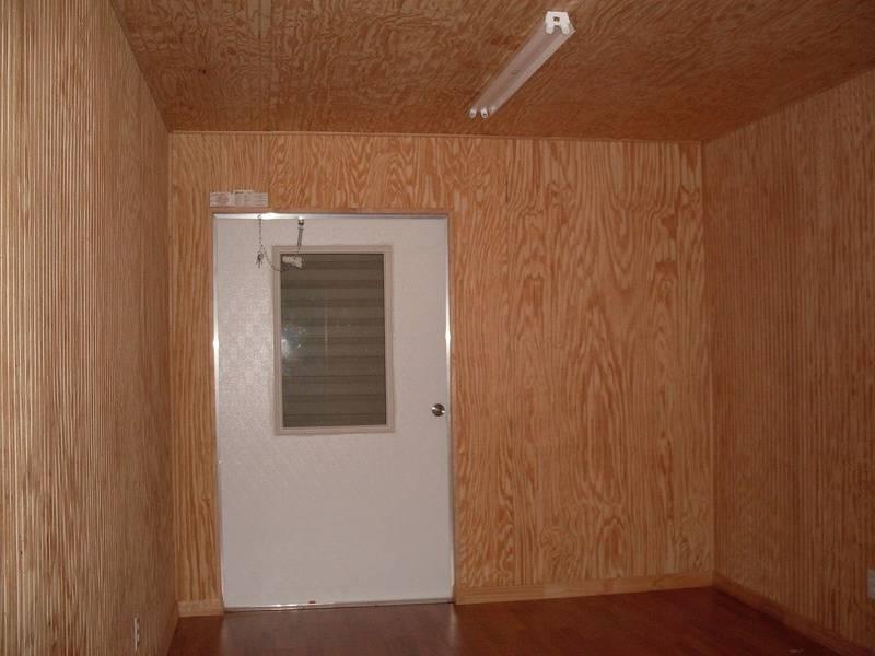 10x16 interior finish with Plybead