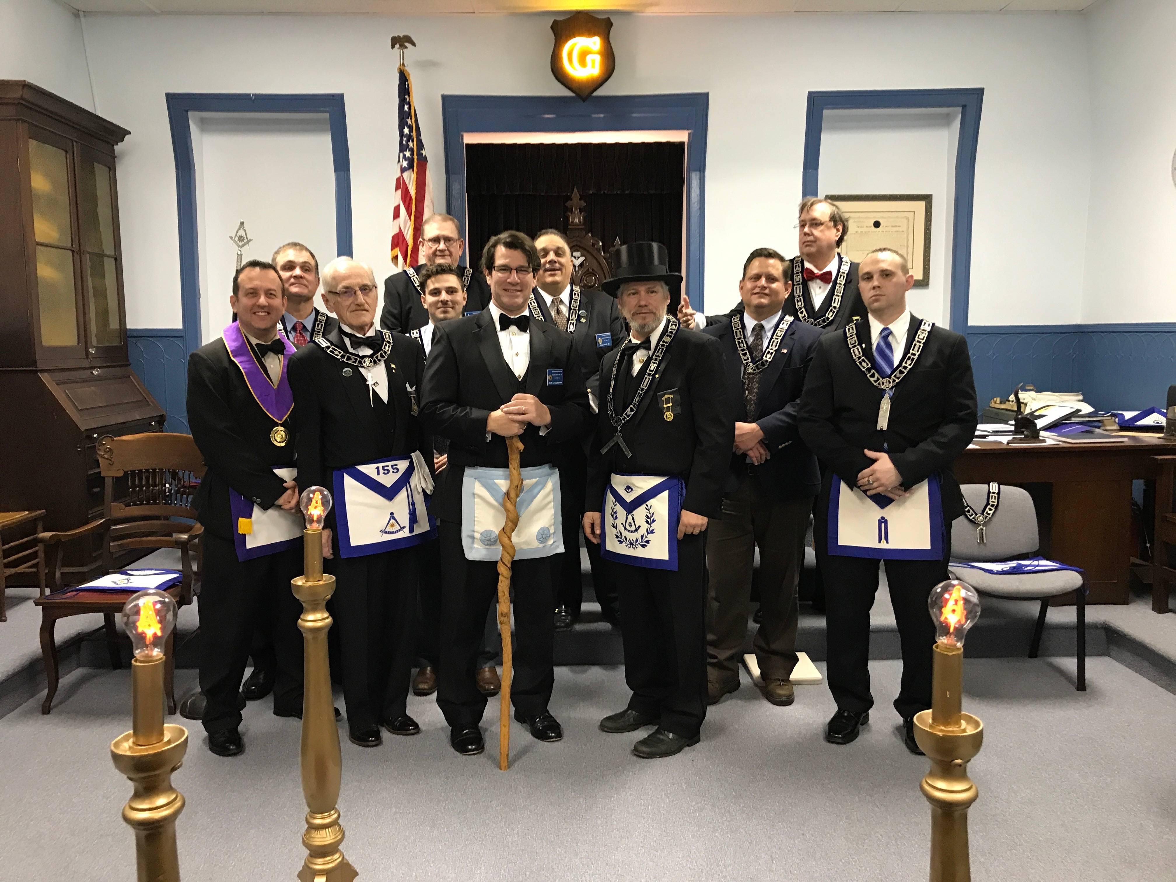 2019 Acacia Lodge Officers