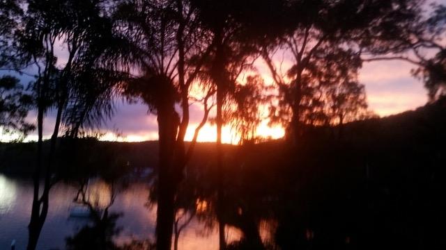 Sunset @ Lovett Bay