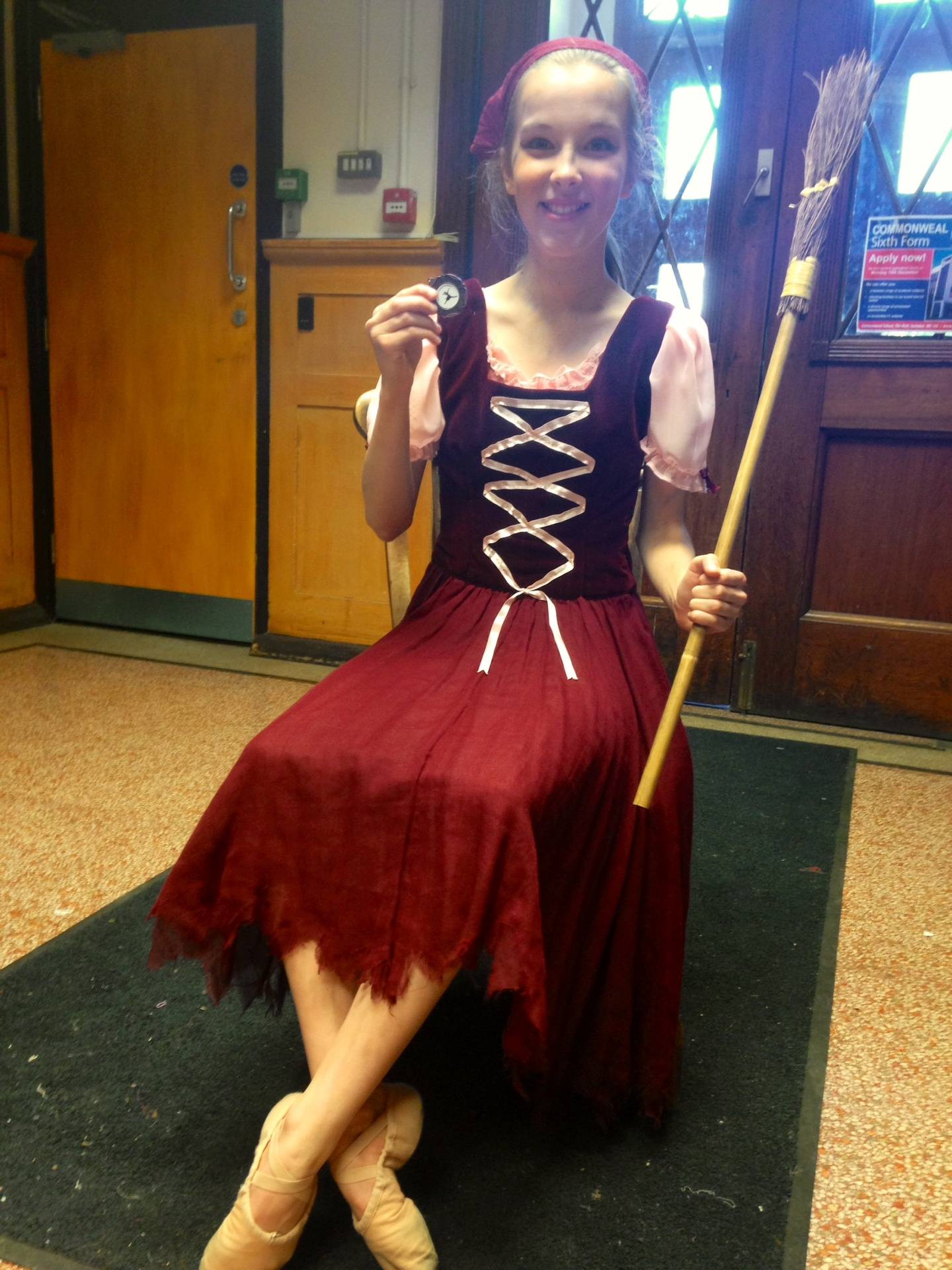 Ellie Mulry as Cinderella