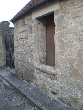 This little building was sometimes a prayer house