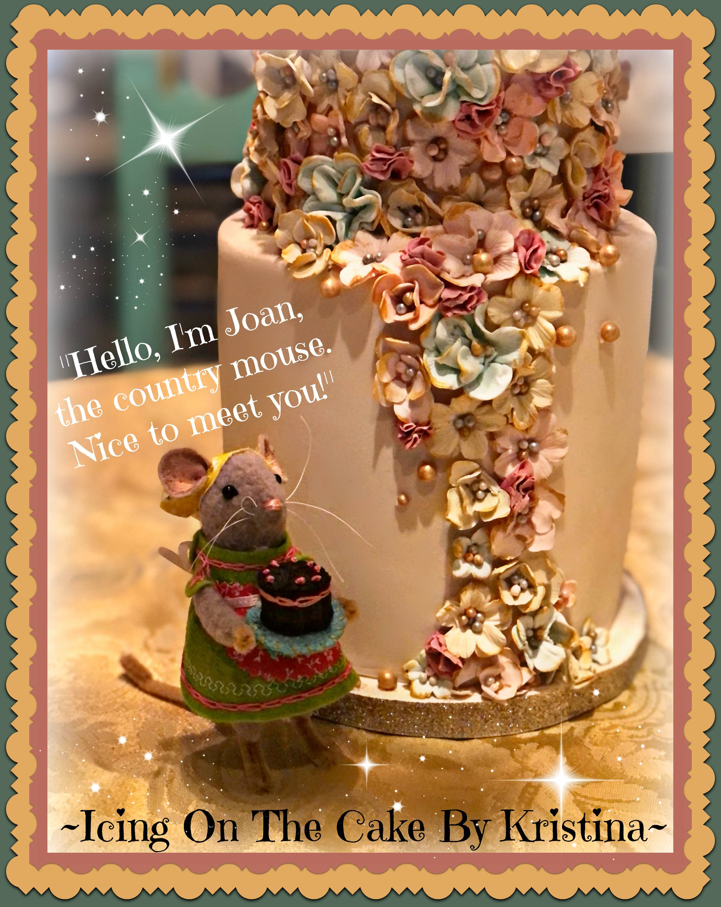 Welcome Our Newest and smallest helper to Icing On The Cake By Kristina!