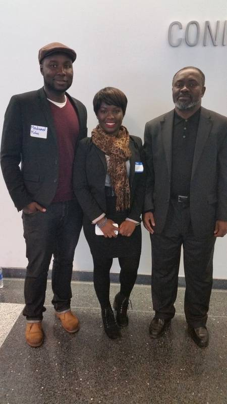Attendee to the African Symposium
