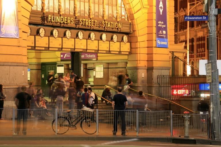 Flinders Street Station - Entrance