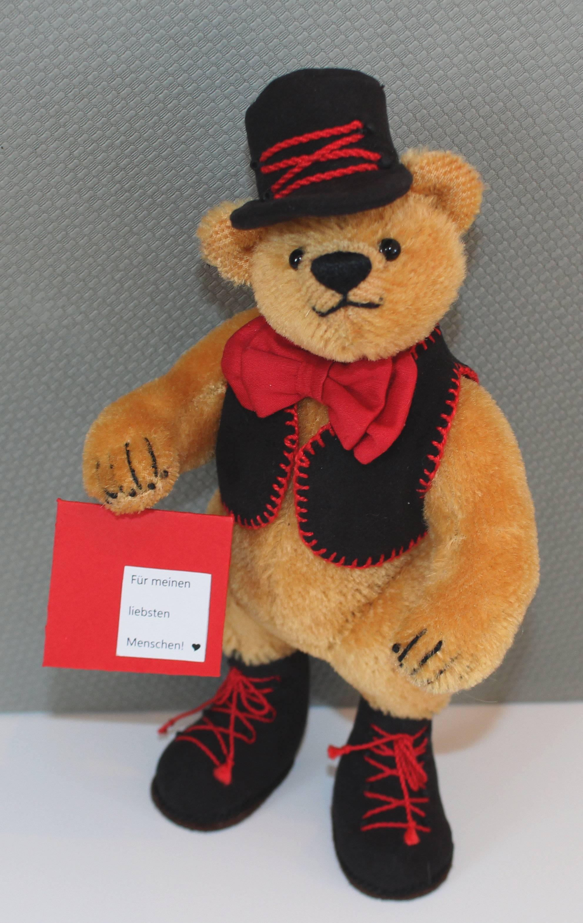"""Bär """"Schorschi"""" mit Brief für einen Lieblingsmenschen!"""