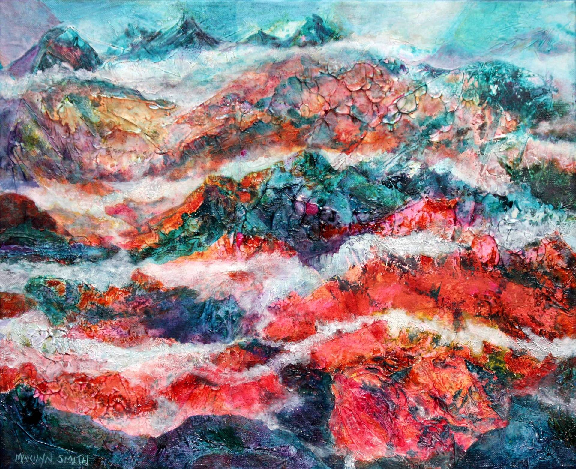 Mountain Glow  SOLD