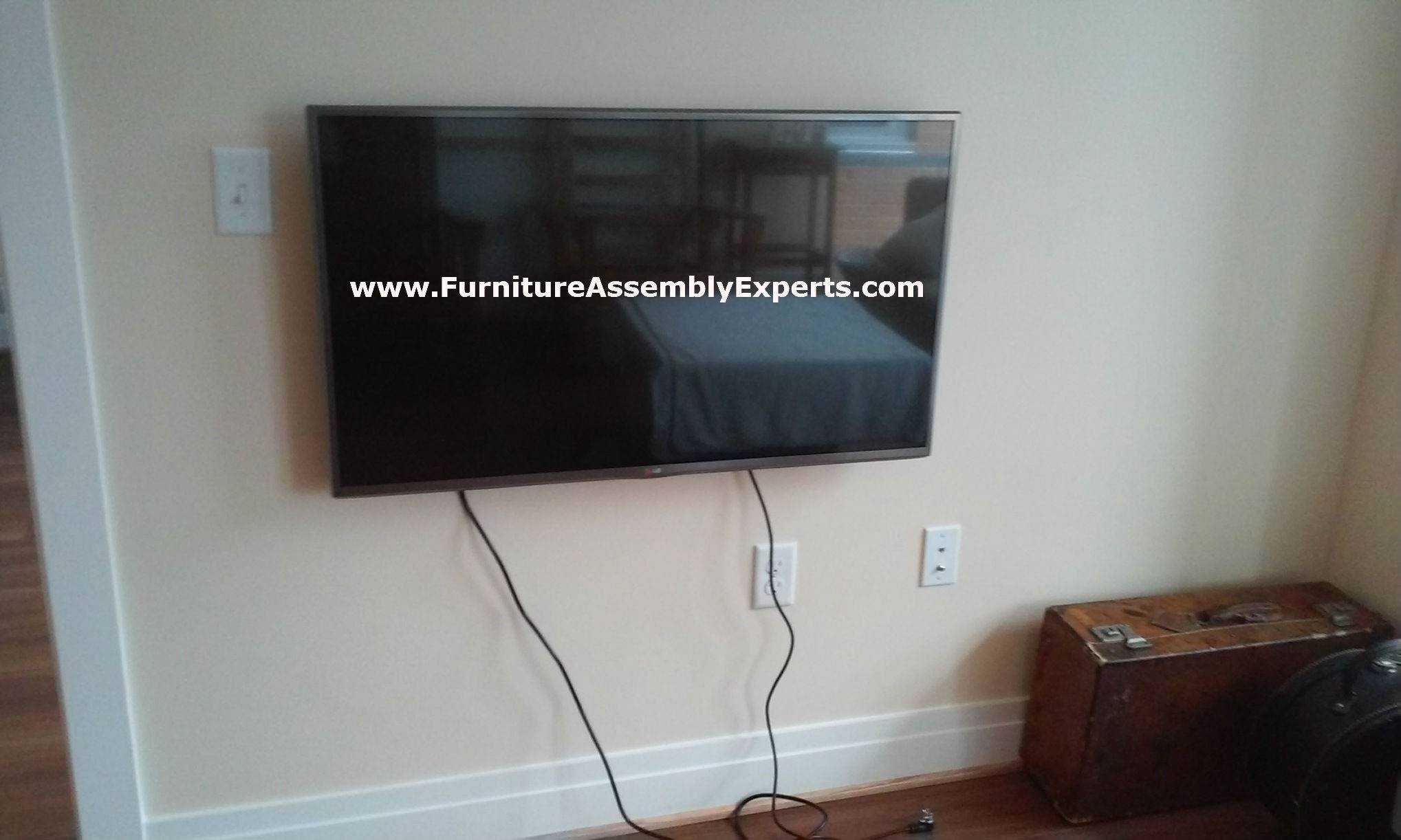 TV wall mount service contractor in capitol hill DC