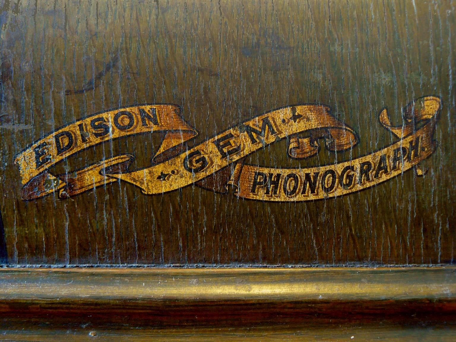 Edison Gem Phonograph 9