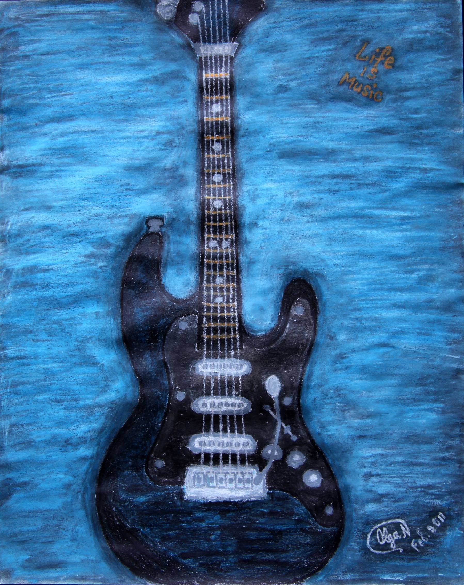Life is Music - Guitar