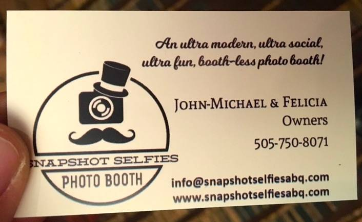 Snapshot Selfies Photo Booth