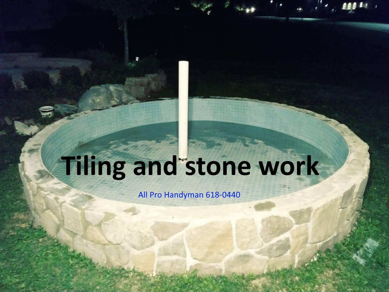 Tiling pond 2018