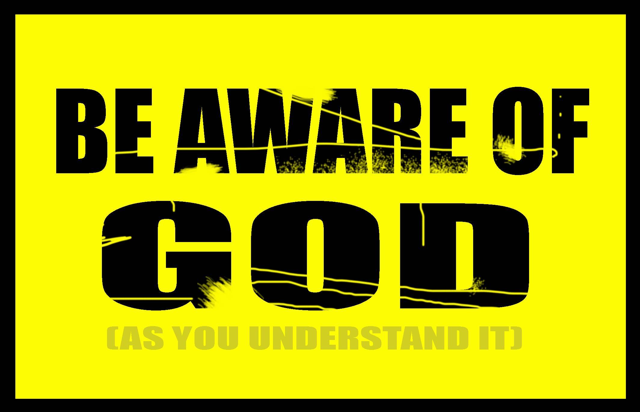 Be Aware of God (dognose)